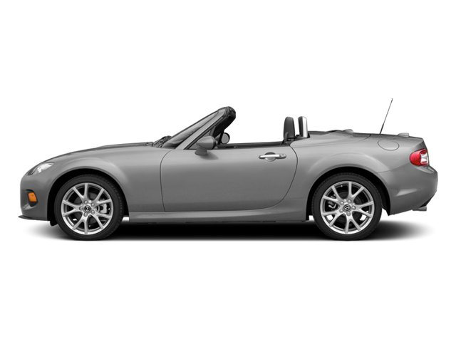 Liquid Silver Metallic 2014 Mazda MX-5 Miata Pictures MX-5 Miata Convertible 2D Sport I4 photos side view