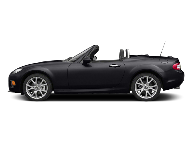 Meteor Gray 2014 Mazda MX-5 Miata Pictures MX-5 Miata Convertible 2D GT I4 photos side view