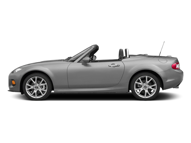 Liquid Silver Metallic 2014 Mazda MX-5 Miata Pictures MX-5 Miata Convertible 2D Club I4 photos side view