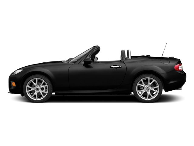 Brilliant Black Clearcoat 2014 Mazda MX-5 Miata Pictures MX-5 Miata Hardtop 2D Club I4 photos side view