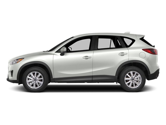Crystal White Pearl Mica 2014 Mazda CX-5 Pictures CX-5 Utility 4D GT AWD I4 photos side view