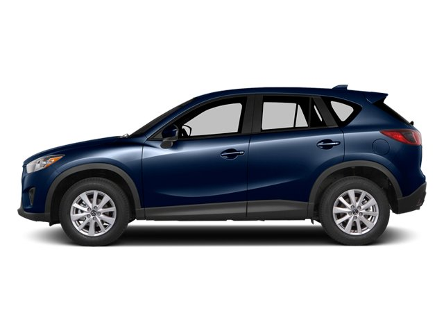 Stormy Blue Mica 2014 Mazda CX-5 Pictures CX-5 Utility 4D GT 2WD I4 photos side view