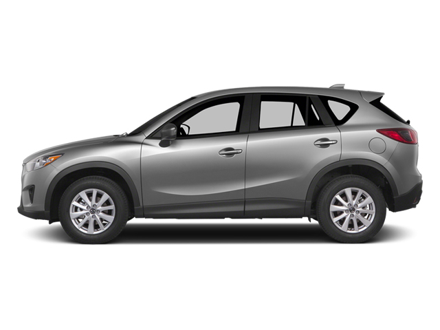 Liquid Silver Metallic 2014 Mazda CX-5 Pictures CX-5 Utility 4D GT AWD I4 photos side view