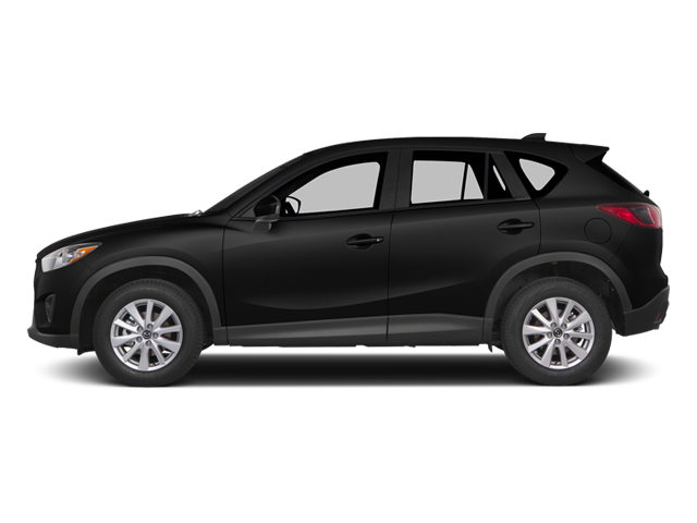 Jet Black Mica 2014 Mazda CX-5 Pictures CX-5 Utility 4D GT 2WD I4 photos side view