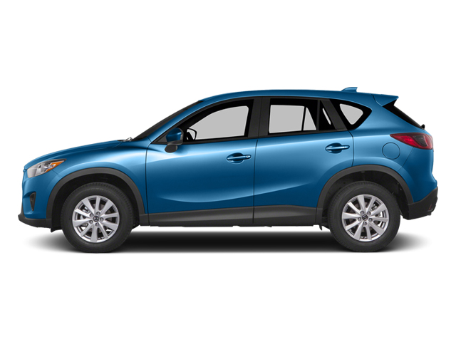 Blue Reflex Mica 2014 Mazda CX-5 Pictures CX-5 Utility 4D GT 2WD I4 photos side view