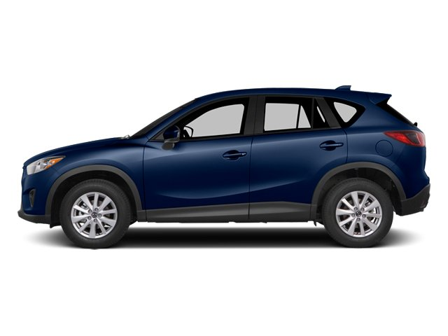 Deep Crystal Blue Mica 2014 Mazda CX-5 Pictures CX-5 Utility 4D GT AWD I4 photos side view