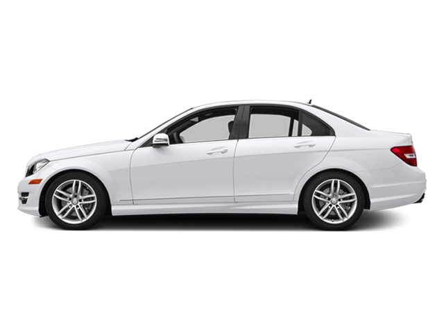 Polar White 2014 Mercedes-Benz C-Class Pictures C-Class Sedan 4D C300 AWD photos side view