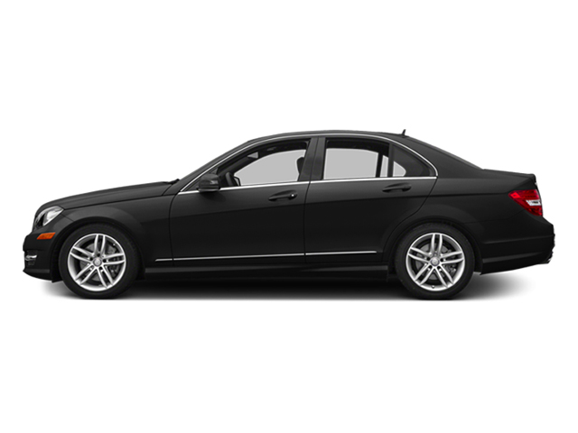 Obsidian Black Metallic 2014 Mercedes-Benz C-Class Pictures C-Class Sedan 4D C300 AWD photos side view