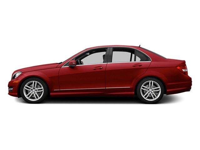 Mars Red 2014 Mercedes-Benz C-Class Pictures C-Class Sport Sedan 4D C300 AWD photos side view