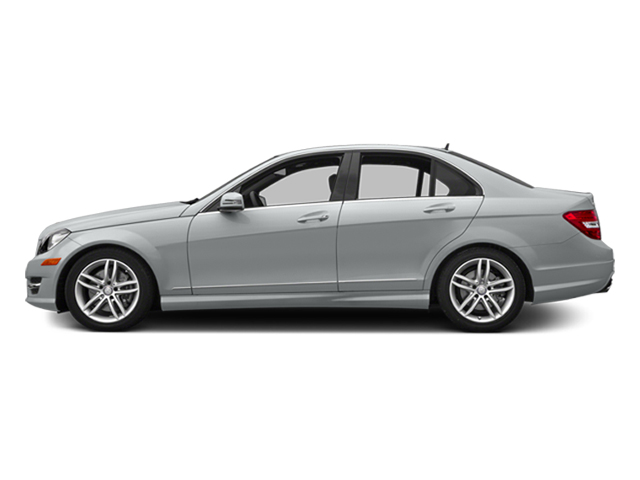 Iridium Silver Metallic 2014 Mercedes-Benz C-Class Pictures C-Class Sedan 4D C300 AWD photos side view