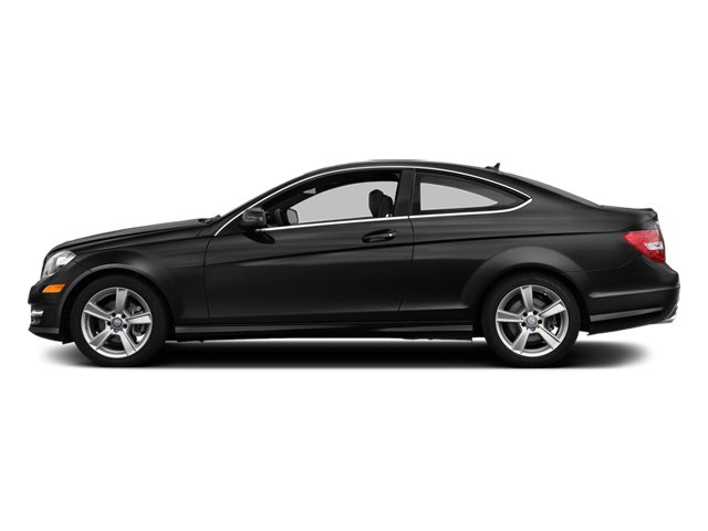 Obsidian Black Metallic 2014 Mercedes-Benz C-Class Pictures C-Class Coupe 2D C250 I4 Turbo photos side view