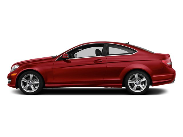 Mars Red 2014 Mercedes-Benz C-Class Pictures C-Class Coupe 2D C250 I4 Turbo photos side view