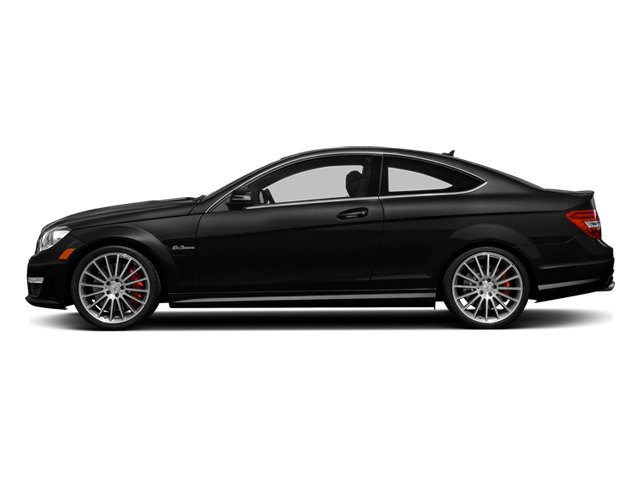 Obsidian Black Metallic 2014 Mercedes-Benz C-Class Pictures C-Class Coupe 2D C63 AMG V8 photos side view
