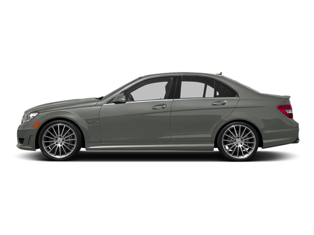 designo Magno Platinum (Matte Finish) 2014 Mercedes-Benz C-Class Pictures C-Class Sport Sedan 4D C63 AMG photos side view
