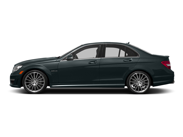 Steel Gray Metallic 2014 Mercedes-Benz C-Class Pictures C-Class Sport Sedan 4D C63 AMG photos side view