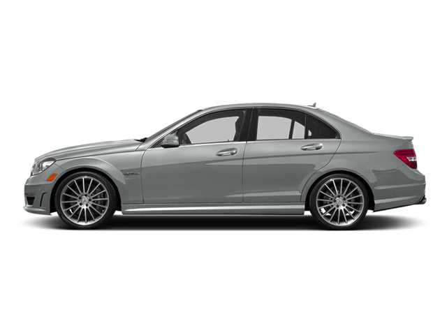 Iridium Silver Metallic 2014 Mercedes-Benz C-Class Pictures C-Class Sport Sedan 4D C63 AMG photos side view