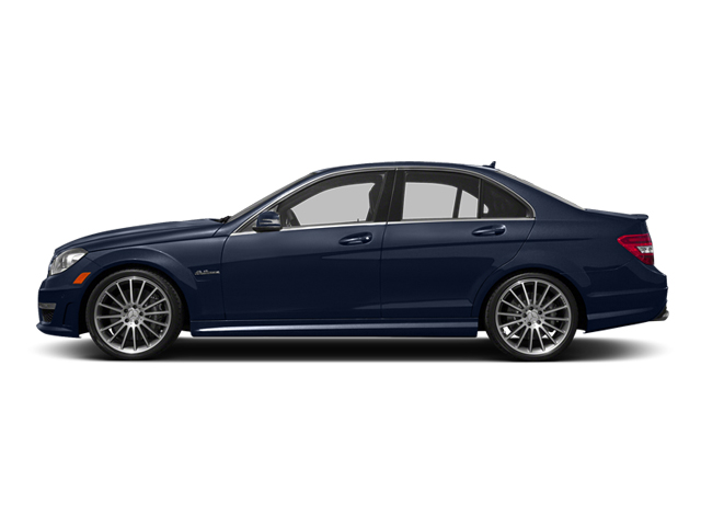 Lunar Blue Metallic 2014 Mercedes-Benz C-Class Pictures C-Class Sport Sedan 4D C63 AMG photos side view