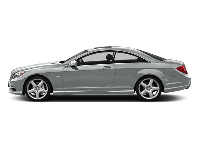 Iridium Silver Metallic 2014 Mercedes-Benz CL-Class Pictures CL-Class Coupe 2D CL550 AWD V8 Turbo photos side view