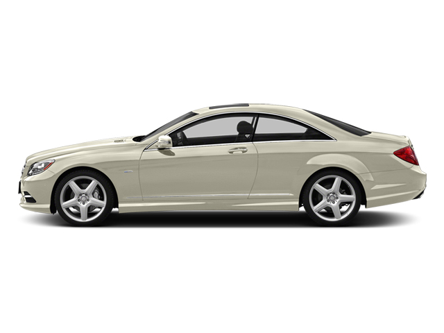 Diamond White Metallic 2014 Mercedes-Benz CL-Class Pictures CL-Class Coupe 2D CL550 AWD V8 Turbo photos side view