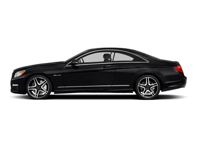 Black 2014 Mercedes-Benz CL-Class Pictures CL-Class Coupe 2D CL63 AMG V8 Turbo photos side view