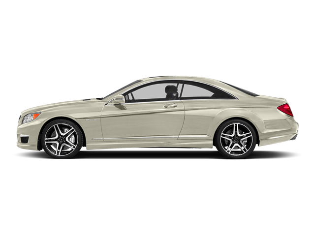 Diamond White Metallic 2014 Mercedes-Benz CL-Class Pictures CL-Class Coupe 2D CL63 AMG V8 Turbo photos side view