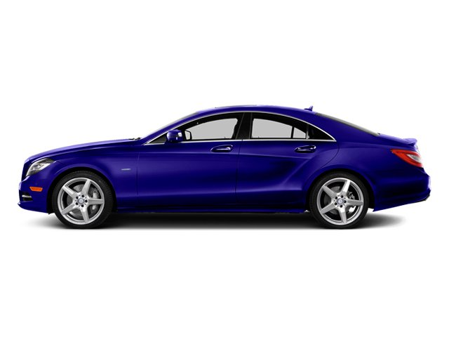 designo Mystic Blue 2014 Mercedes-Benz CLS-Class Pictures CLS-Class Sedan 4D CLS550 photos side view