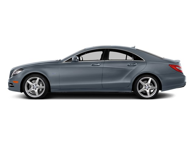 designo Graphite 2014 Mercedes-Benz CLS-Class Pictures CLS-Class Sedan 4D CLS550 photos side view