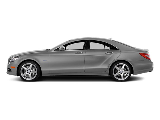 designo Magno Alanite Gray (Matte Finish) 2014 Mercedes-Benz CLS-Class Pictures CLS-Class Sedan 4D CLS550 photos side view
