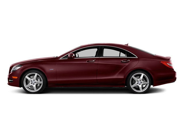 Storm Red Metallic 2014 Mercedes-Benz CLS-Class Pictures CLS-Class Sedan 4D CLS550 AWD photos side view