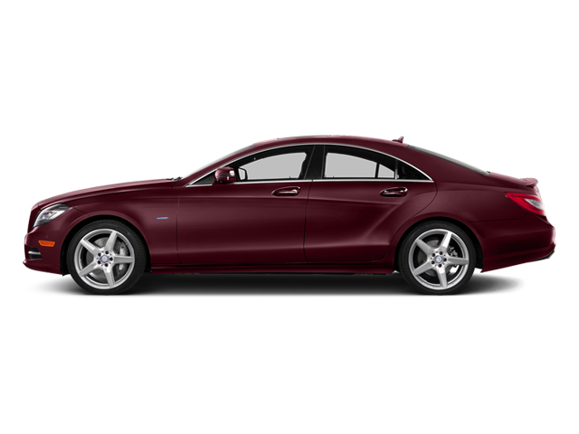 Storm Red Metallic 2014 Mercedes-Benz CLS-Class Pictures CLS-Class Sedan 4D CLS550 photos side view