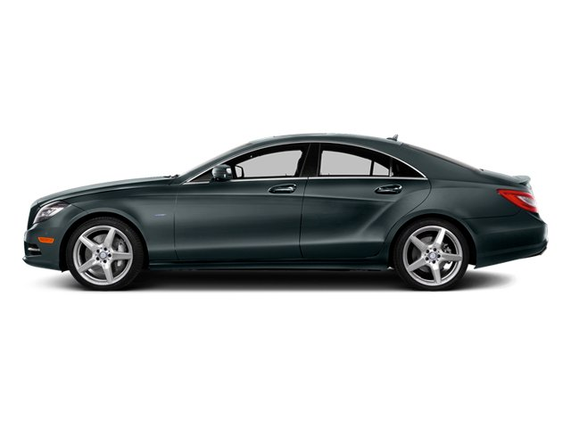 Steel Gray Metallic 2014 Mercedes-Benz CLS-Class Pictures CLS-Class Sedan 4D CLS550 photos side view