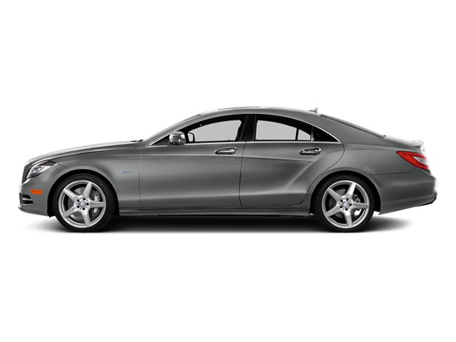 Palladium Silver Metallic 2014 Mercedes-Benz CLS-Class Pictures CLS-Class Sedan 4D CLS550 photos side view