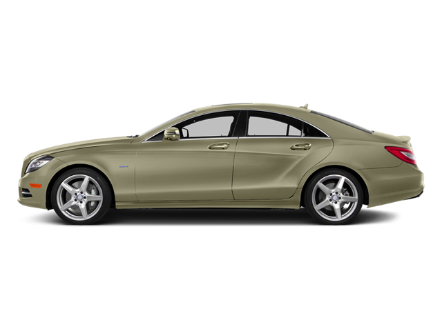 Pearl Beige Metallic 2014 Mercedes-Benz CLS-Class Pictures CLS-Class Sedan 4D CLS550 AWD photos side view
