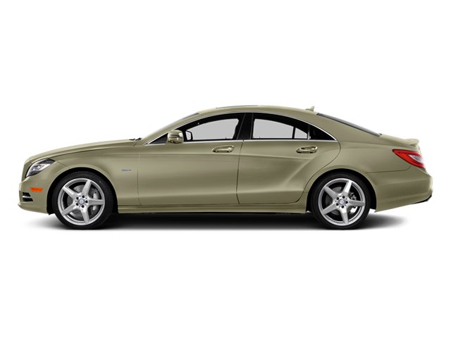 Pearl Beige Metallic 2014 Mercedes-Benz CLS-Class Pictures CLS-Class Sedan 4D CLS550 photos side view