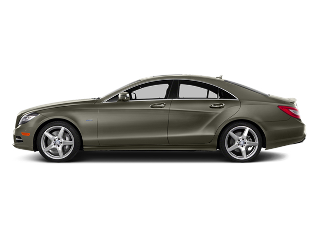 Indium Gray Metallic 2014 Mercedes-Benz CLS-Class Pictures CLS-Class Sedan 4D CLS550 AWD photos side view