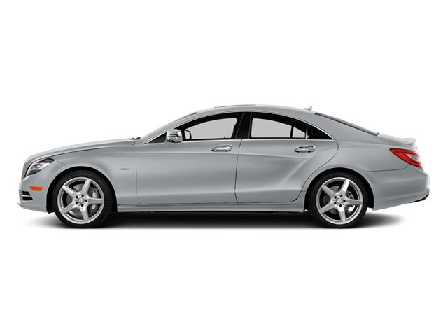 Diamond Silver Metallic 2014 Mercedes-Benz CLS-Class Pictures CLS-Class Sedan 4D CLS550 AWD photos side view