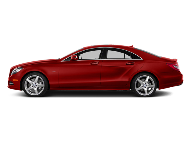 Cardinal Red Metallic 2014 Mercedes-Benz CLS-Class Pictures CLS-Class Sedan 4D CLS550 photos side view