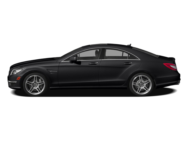 Black 2014 Mercedes-Benz CLS-Class Pictures CLS-Class Sedan 4D CLS63 AMG S AWD photos side view