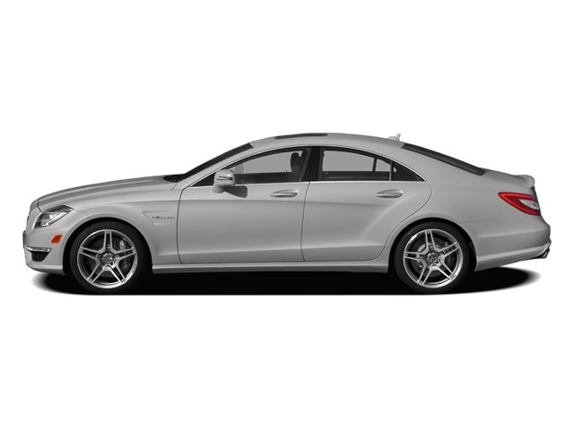 designo Magno Alanite Gray (Matte Finish) 2014 Mercedes-Benz CLS-Class Pictures CLS-Class Sedan 4D CLS63 AMG AWD photos side view