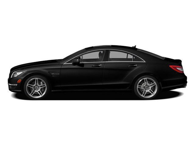 Obsidian Black Metallic 2014 Mercedes-Benz CLS-Class Pictures CLS-Class Sedan 4D CLS63 AMG S AWD photos side view