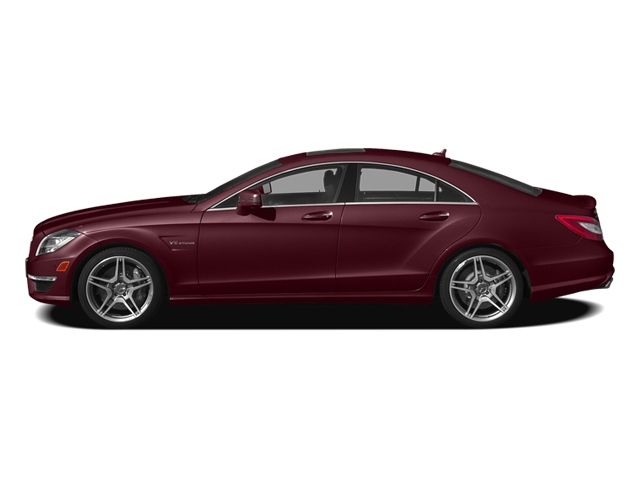 Storm Red Metallic 2014 Mercedes-Benz CLS-Class Pictures CLS-Class Sedan 4D CLS63 AMG AWD photos side view