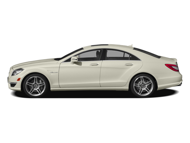 Diamond White Metallic 2014 Mercedes-Benz CLS-Class Pictures CLS-Class Sedan 4D CLS63 AMG S AWD photos side view