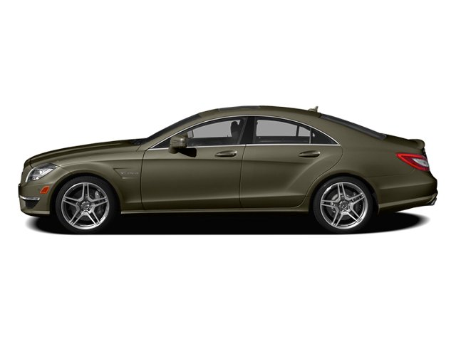 Indium Gray Metallic 2014 Mercedes-Benz CLS-Class Pictures CLS-Class Sedan 4D CLS63 AMG AWD photos side view