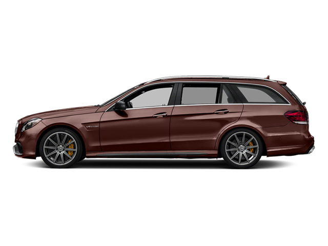 designo Mystic Brown 2014 Mercedes-Benz E-Class Pictures E-Class Wagon 4D E63 AMG S AWD V8 Turbo photos side view