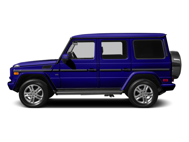 designo Mystic Blue 2014 Mercedes-Benz G-Class Pictures G-Class 4 Door Utility 4Matic photos side view
