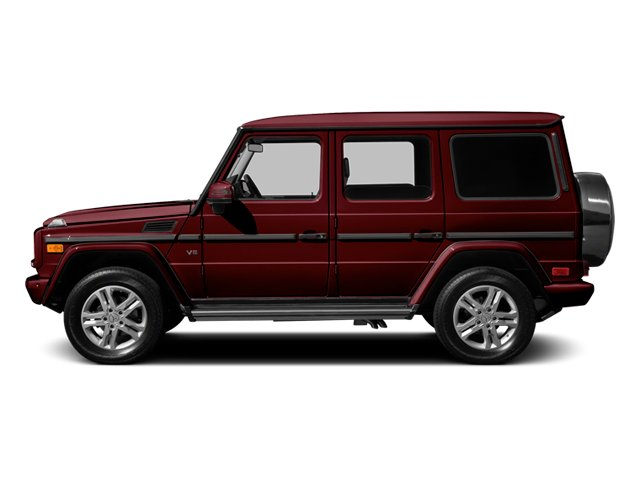 designo Mystic Red 2014 Mercedes-Benz G-Class Pictures G-Class 4 Door Utility 4Matic photos side view