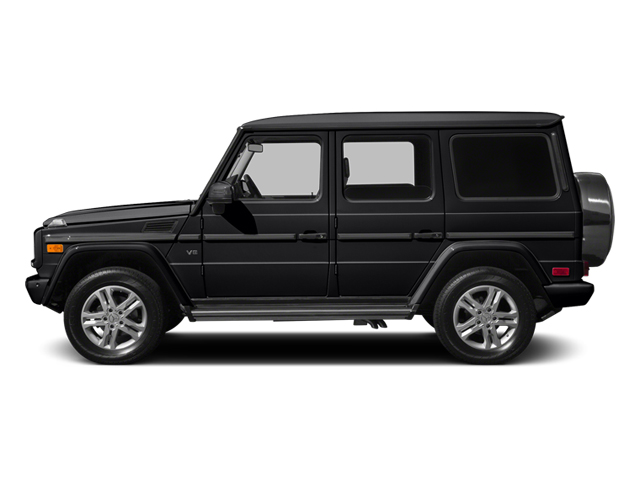designo Magno Night Black (Matte Finish) 2014 Mercedes-Benz G-Class Pictures G-Class 4 Door Utility 4Matic photos side view