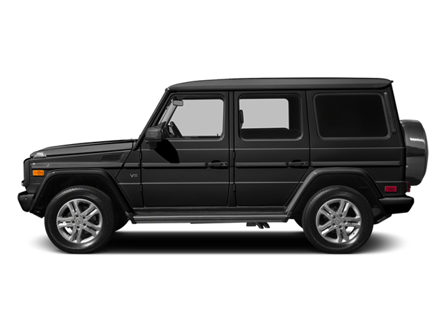 Obsidian Black Metallic 2014 Mercedes-Benz G-Class Pictures G-Class 4 Door Utility 4Matic photos side view