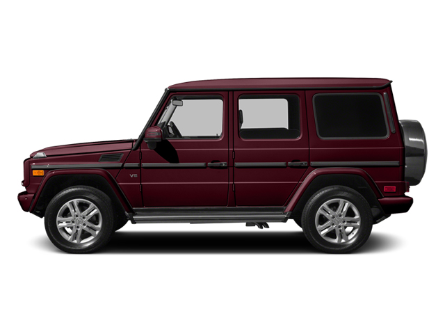 Storm Red Metallic 2014 Mercedes-Benz G-Class Pictures G-Class 4 Door Utility 4Matic photos side view