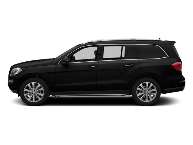 Obsidian Black Metallic 2014 Mercedes-Benz GL-Class Pictures GL-Class Utility 4D GL450 4WD V8 photos side view